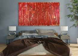 SOLD - Like Thunder by Nestor Toro - SOLD LA Abstract Art