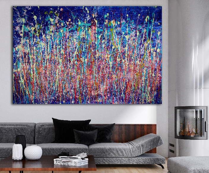 SOLD - A Closer Look (Shimmering Wonder) by Nestor Toro