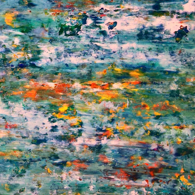 Detail / Vernal creeks by Nestor Toro - (2019)