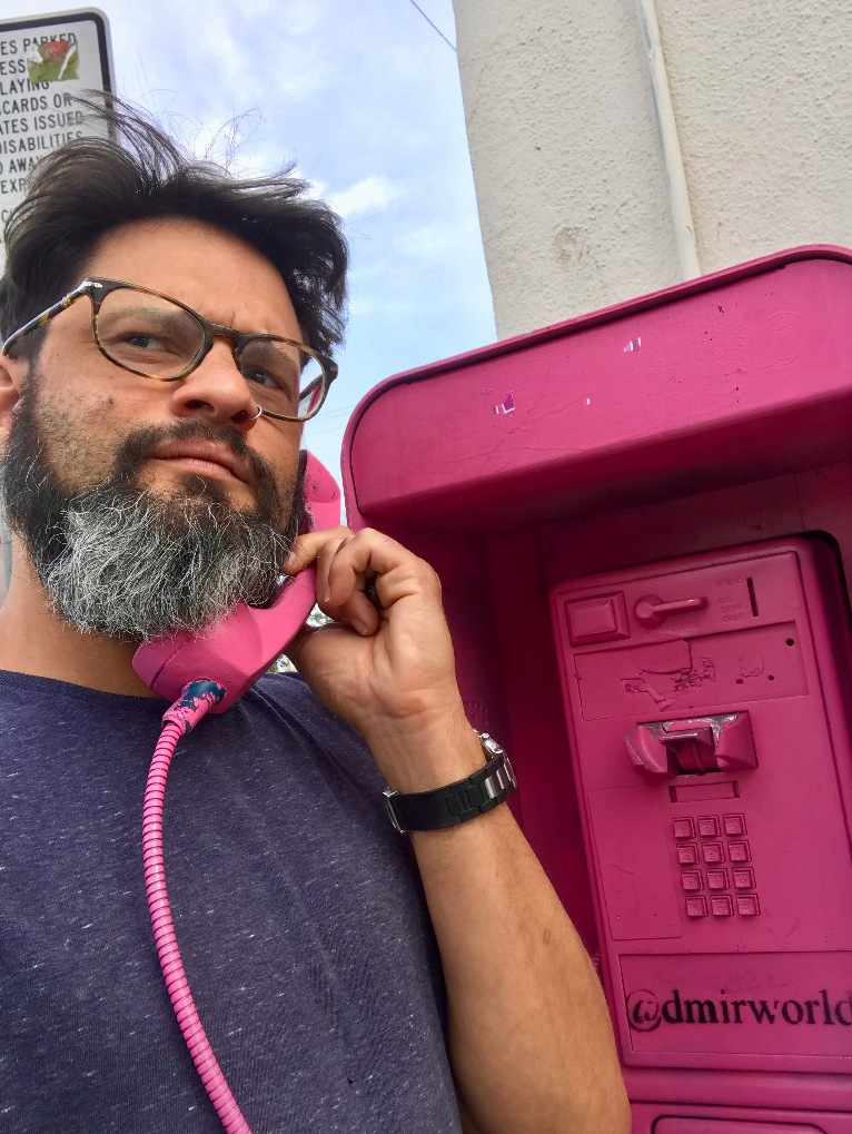 Wrong number on the pink phone