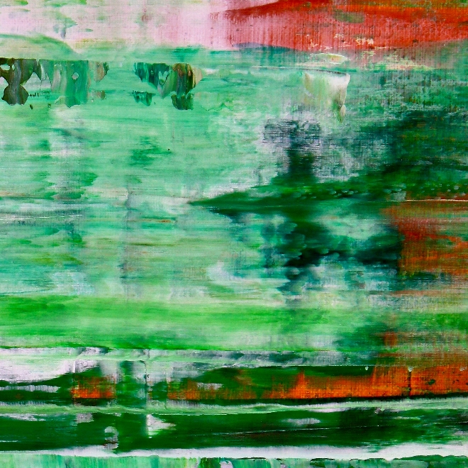 Verdor (morning visions) (2019) Abstract Acrylic painting by Nestor Toro