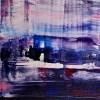 DETAIL-Sky Panorama ( turbulence) (2019) Abstract Acrylic painting by Nestor Toro
