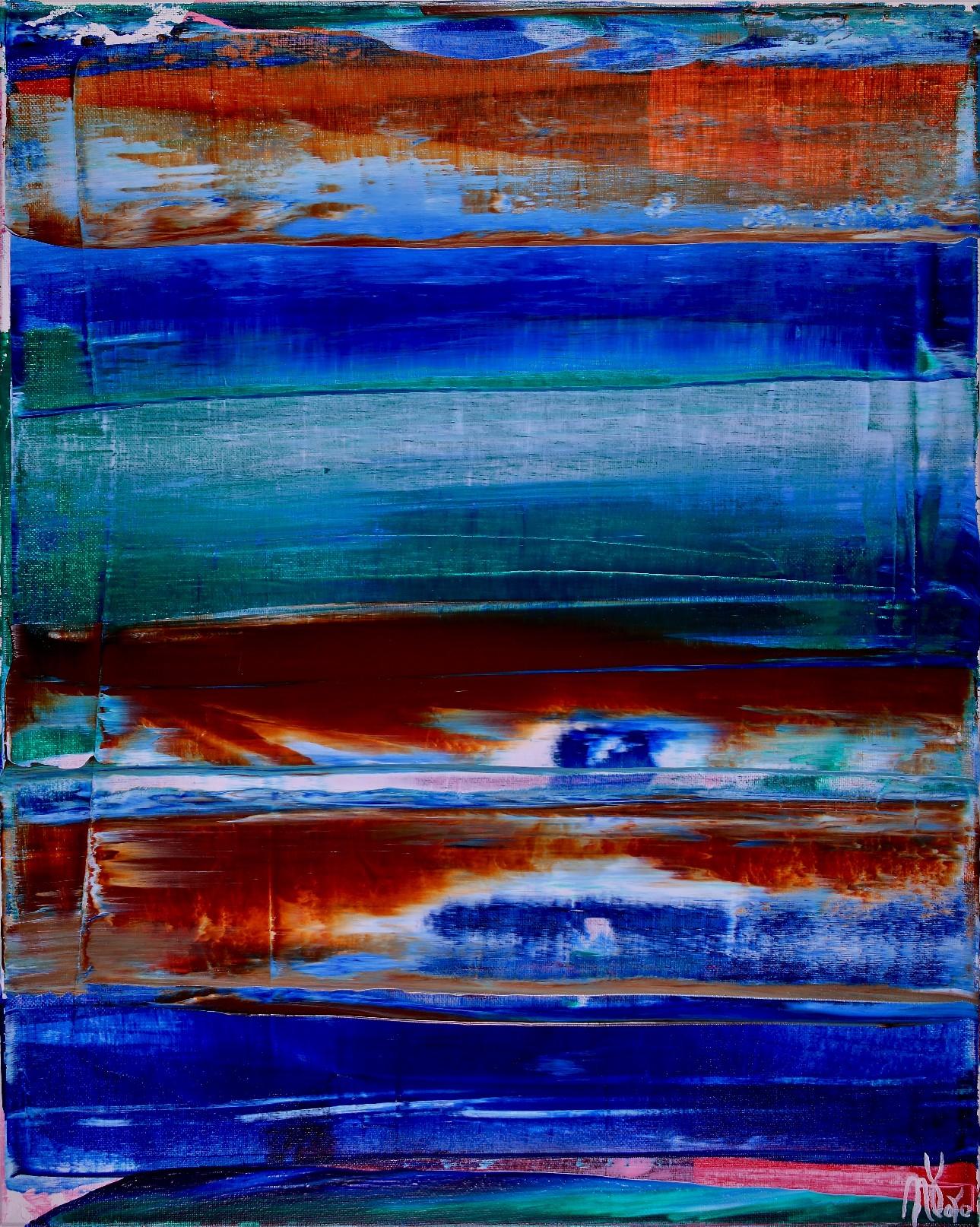 Reflejo infinito (Azulejos) by Nestor Toro 2019