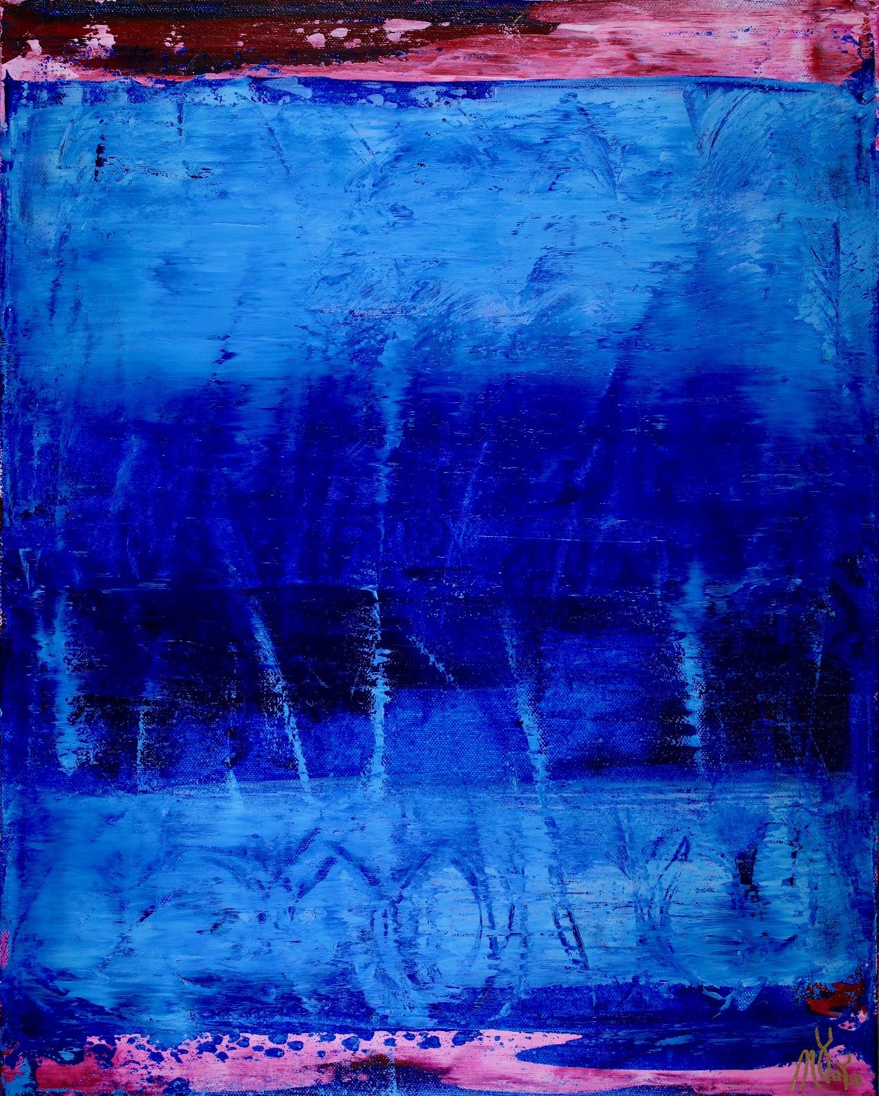 Celeste (Sky Blue) by Nestor Toro 2019 Los Angeles