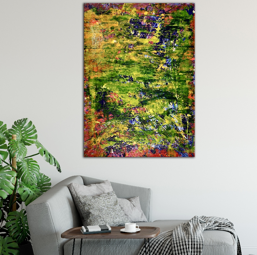 Room View - A closer look (Lush forest imagery) by Nestor Toro (2019)