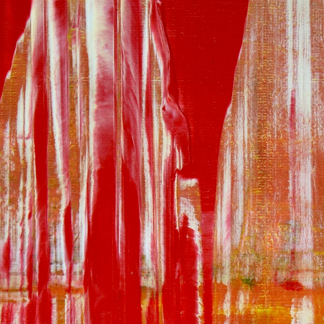 DETAIL - Dimensional Red by Nestor Toro 2019 Los Angeles