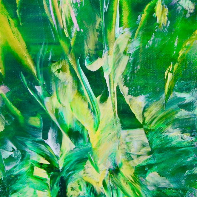 Detail - Ecuatorial Greenery by Nestor Toro (2019) Los Angeles