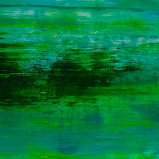 Detail - Emerald Valley by Nestor Toro / Los Angeles 2019