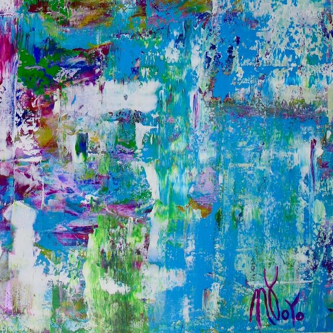 Celeste Spectra (Amethysts Reflections) by Nestor Toro
