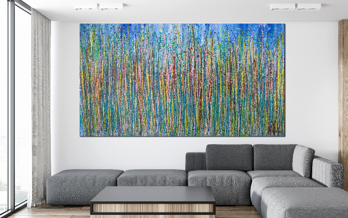 Room View - Fugitive Imagination 3 by Nestor Toro 2019 Los Angeles