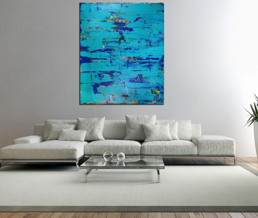 Room View - Blue (Coast Paradise) by Nestor Toro in Los Angeles 2019