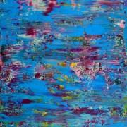 Celeste Terrain (Amethysts reflections) by Nestor Toro in Los Angeles