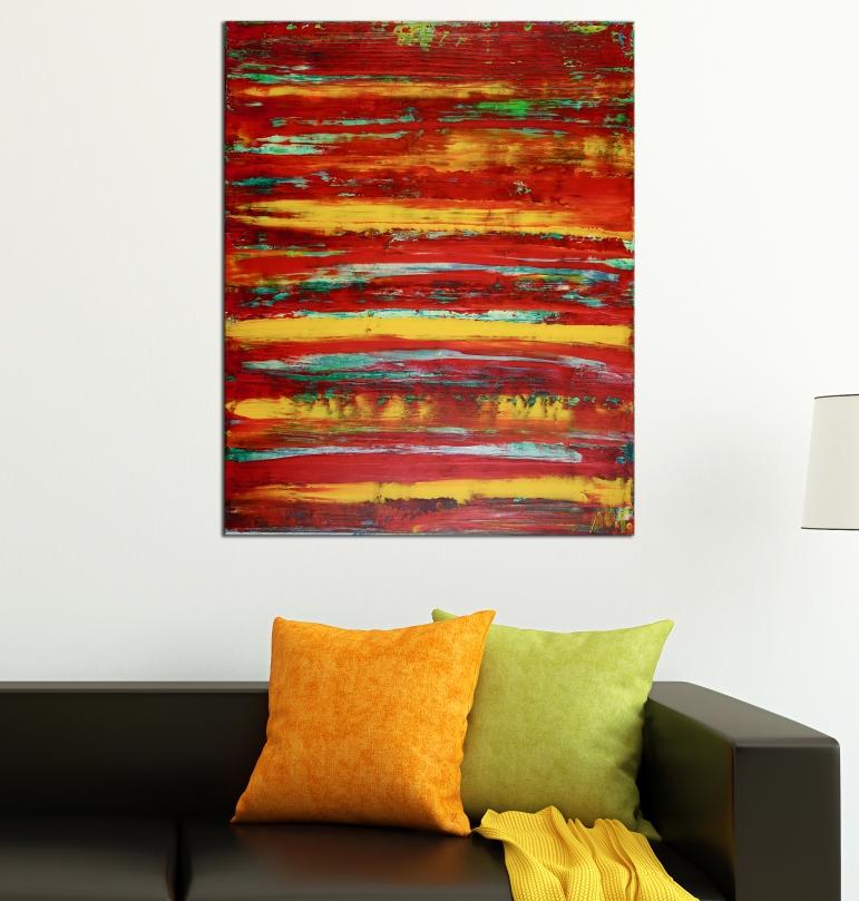 Room View - Daydream (Fiery Spectra) by Nestor Toro