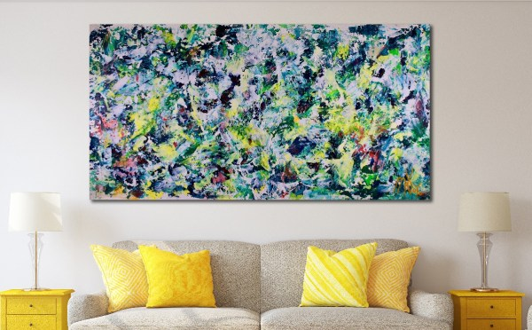 SOLD - With lights on Painting by Nestor Toro in Los Angeles