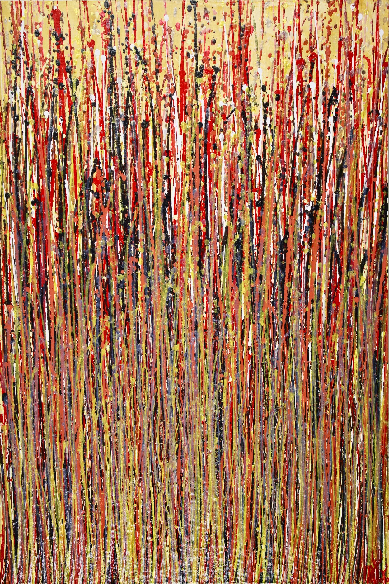 Wooden Forest (Petrified Spectra) by Nestor Toro (2019) Los Angeles
