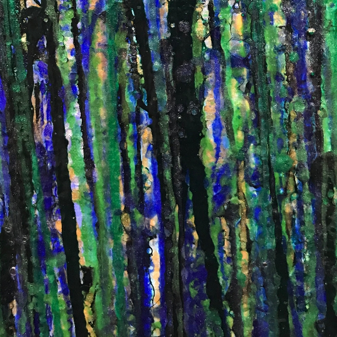 AquaGreen Spectra (Translucent forest) by Nestor Toro 2019 - Los Angeles