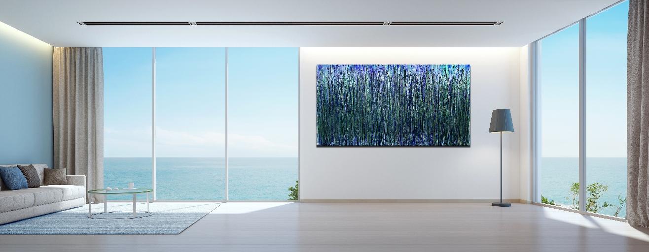 AquaGreen Spectra (Translucent forest) by Nestor Toro 2019 - Los Angeles