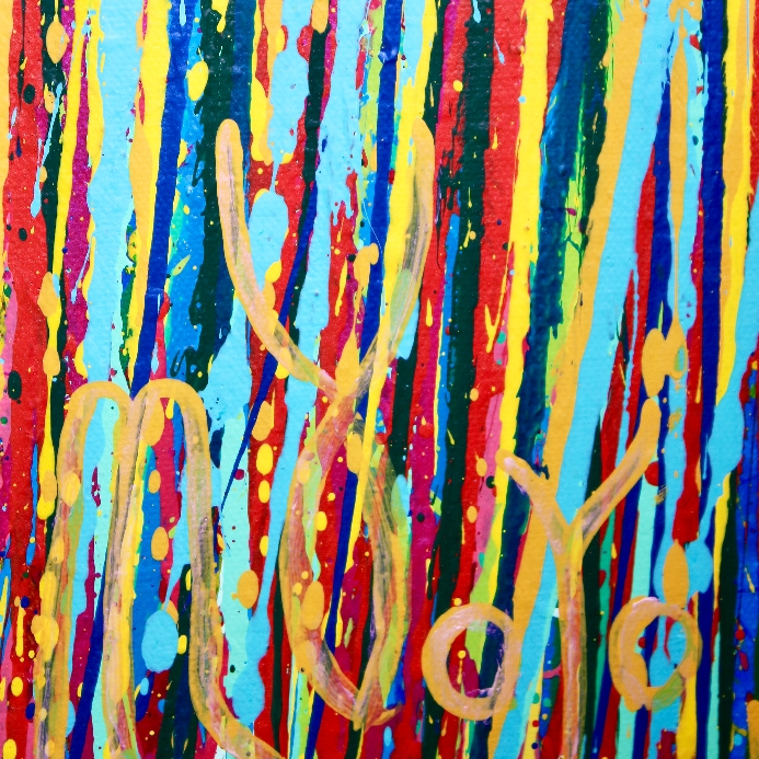 Blue Satin Drizzles (Satin Spectra) by Nestor Toro