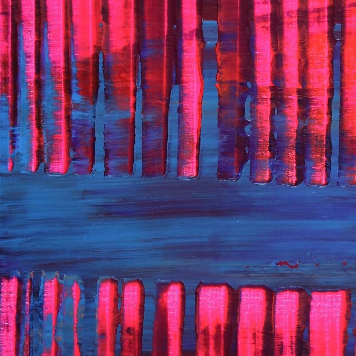 Detail - Pink and Blue (Visible lights) by Nestor Toro - Los Angeles
