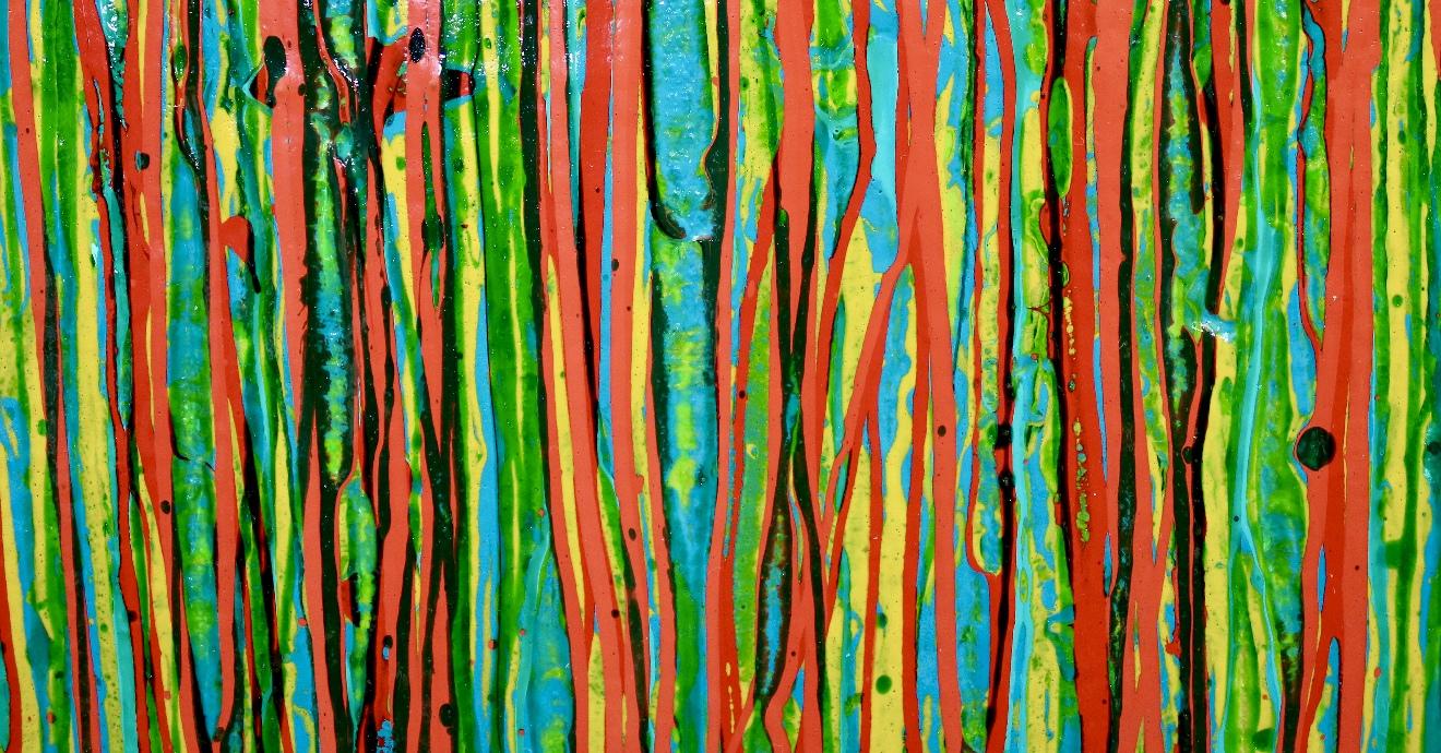 Detail - Superstition Garden (A Closer Look) by Nestor Toro