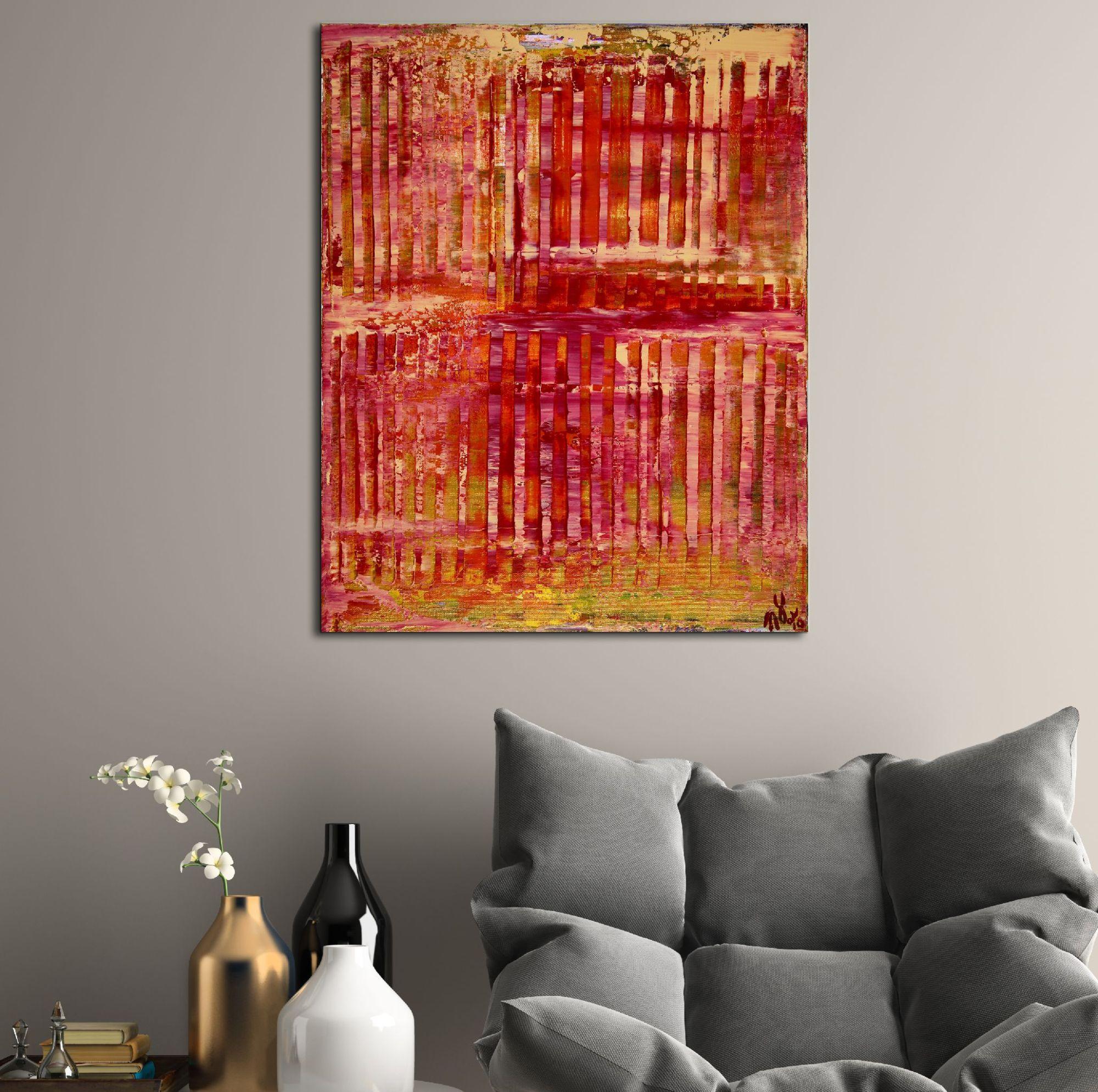 Sunset Intrusions (Orange Sky) by Nestor Toro