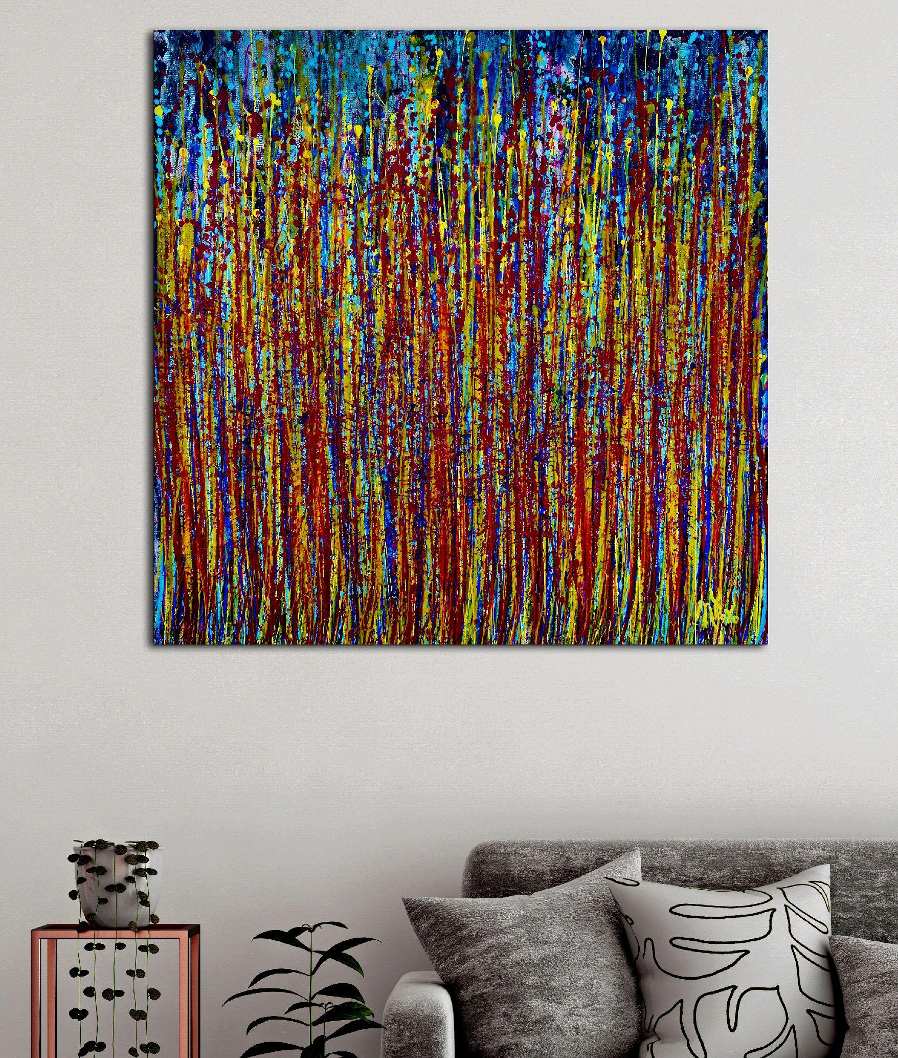 Blooming Garden 4 (Flow Spectra) by Nestor Toro