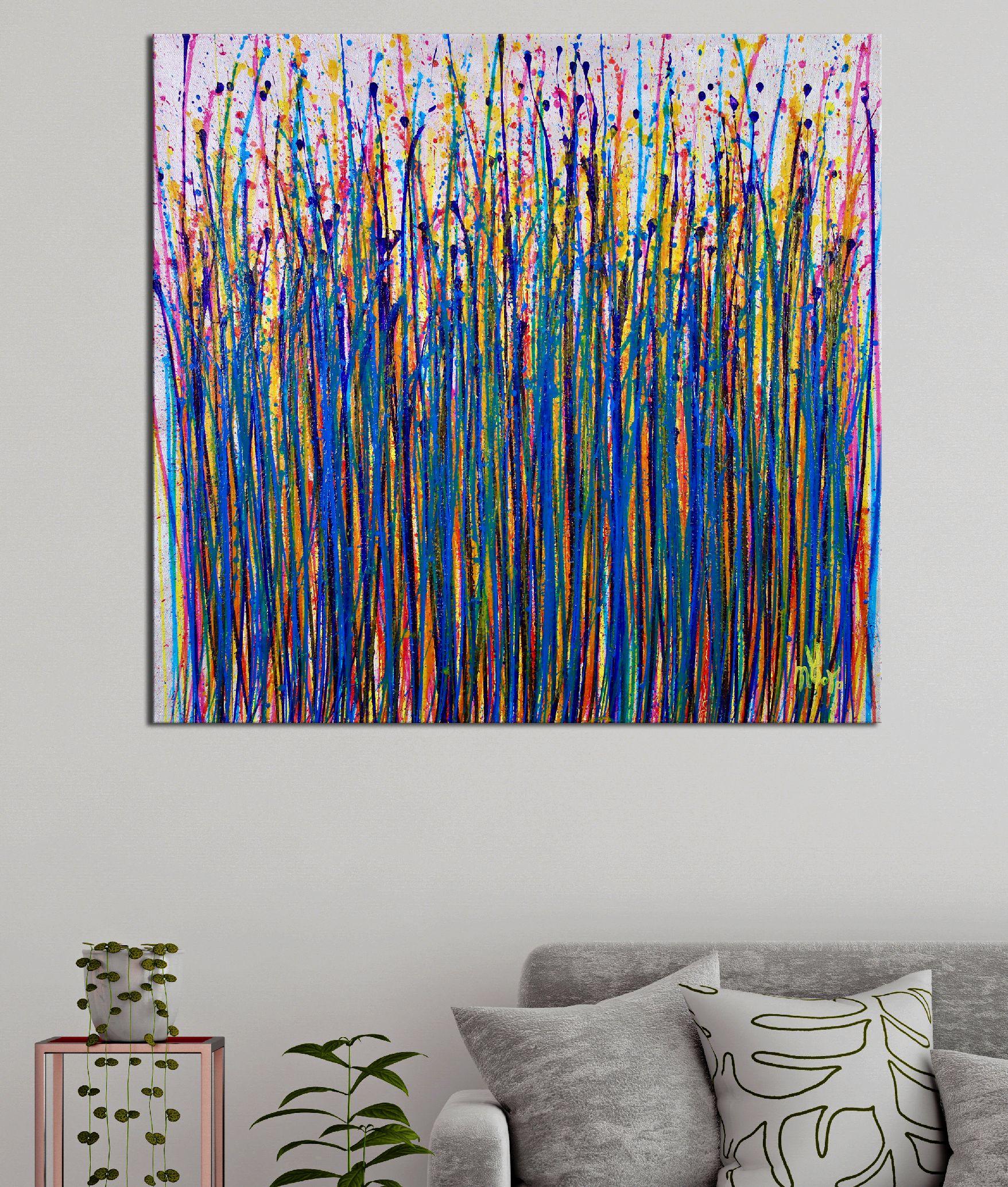 Blooming Garden (Flow Spectra) by Nestor Toro