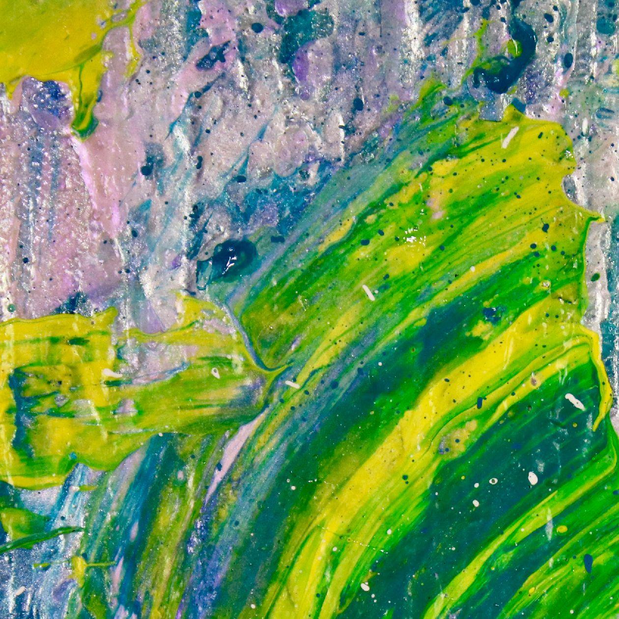 SOLD - Energy Rising 4 (Silver spectra) by Nestor Toro