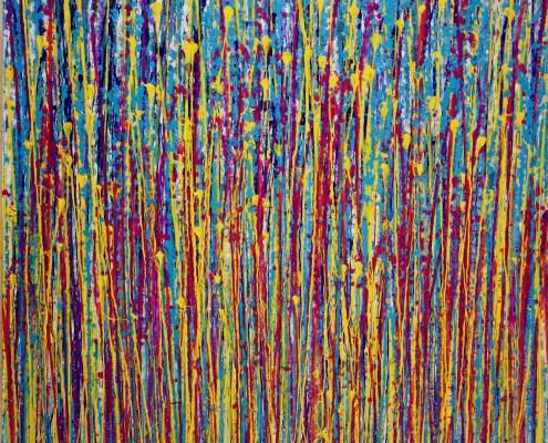 SOLD / Glare Garden (Lilac Reflections) by Nestor Toro