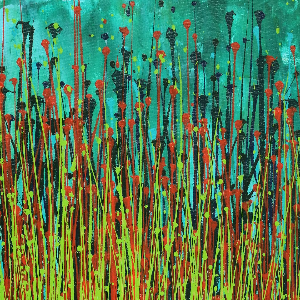 Forest Storm (Green Garden) by Nestor Toro