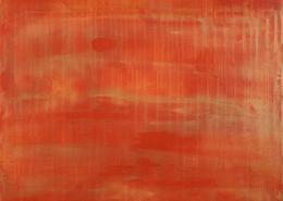SOLD / Sunset paradise 6 (Metallic Orange Spectra) - Nestor Toro 2020