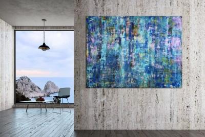 A Majestic Ocean (Blue Depth) by Nestor Toro