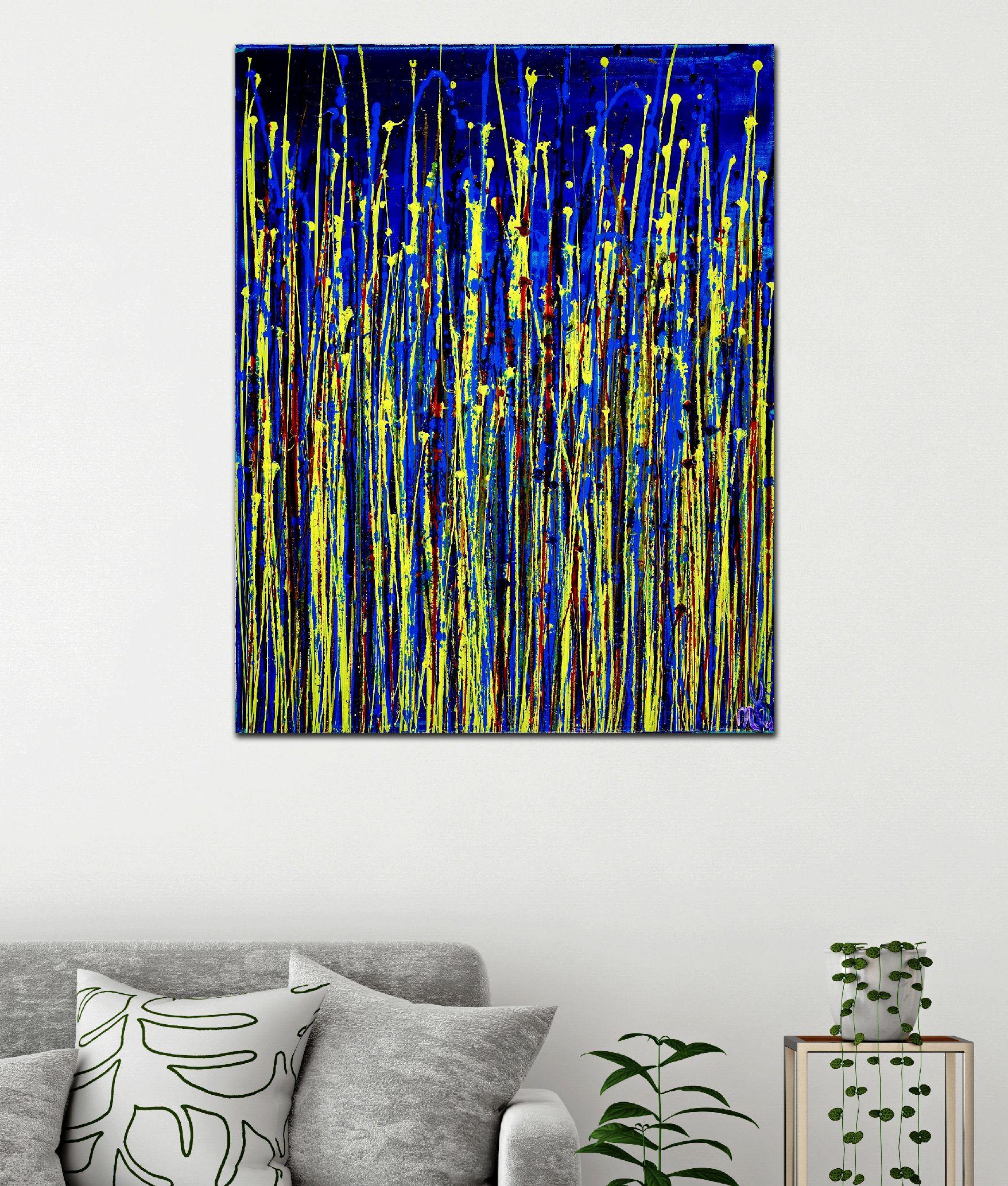 Room View - Shimmering Garden 1 (Flow State) by Nestor Toro 2020