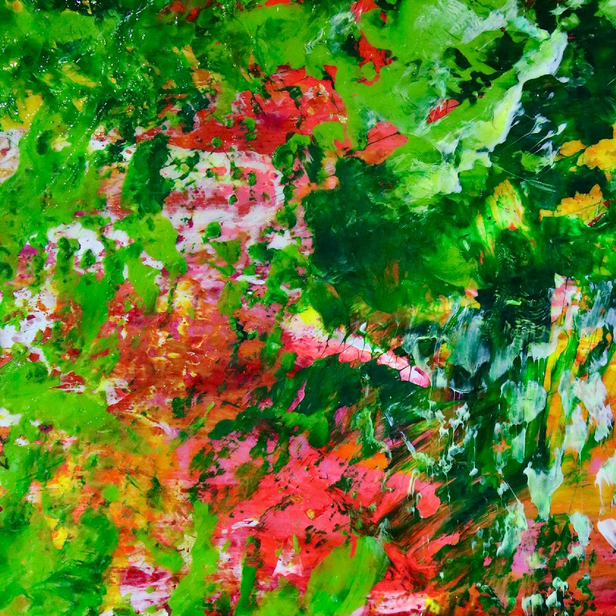 Detail - Verdor ( Green Regrowth) 2020 by Nestor Toro