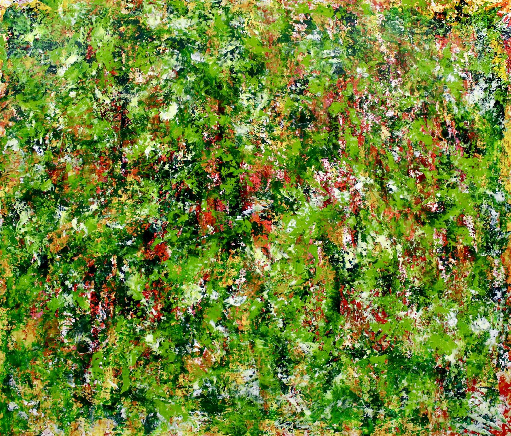 Verdor ( Green Regrowth) 2020 by Nestor Toro