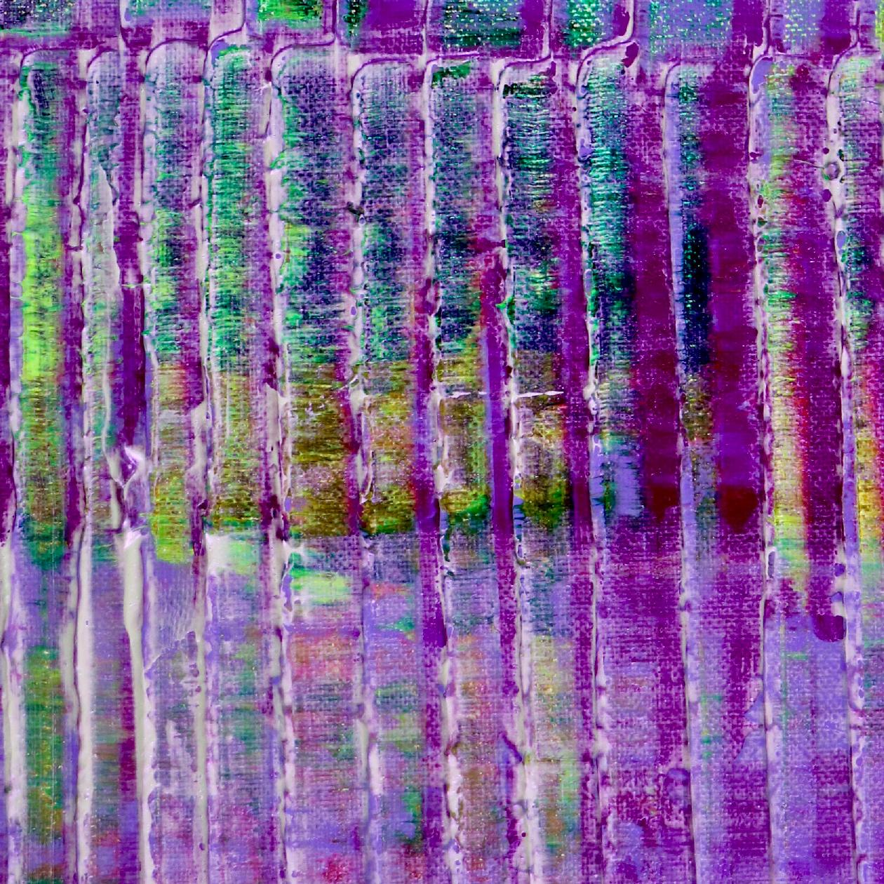 Purple panorama (Green reflections) by Nestor Toro in Los Angeles