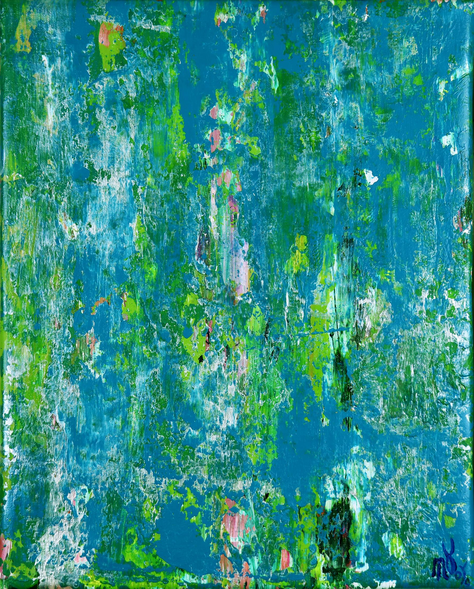 Full Canvas - Verdor (A romance with green) 3 by Nestor Toro