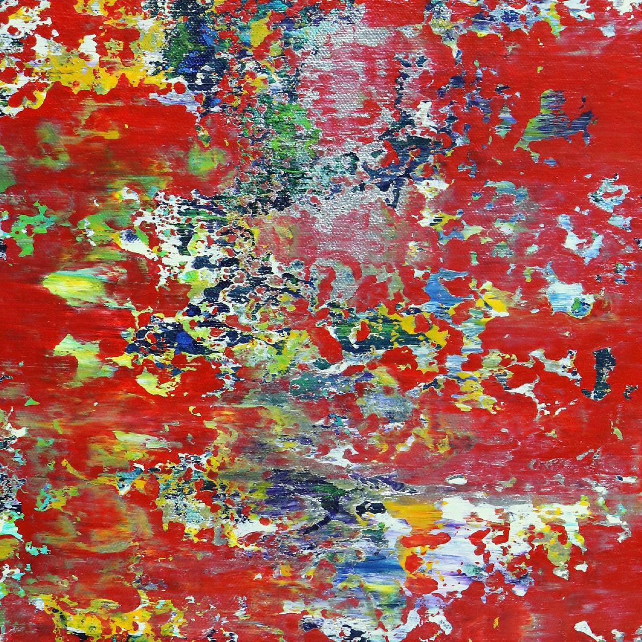 Detail - Fire Rhythms (Earth Formations) #2 (2020) by Nestor Toro