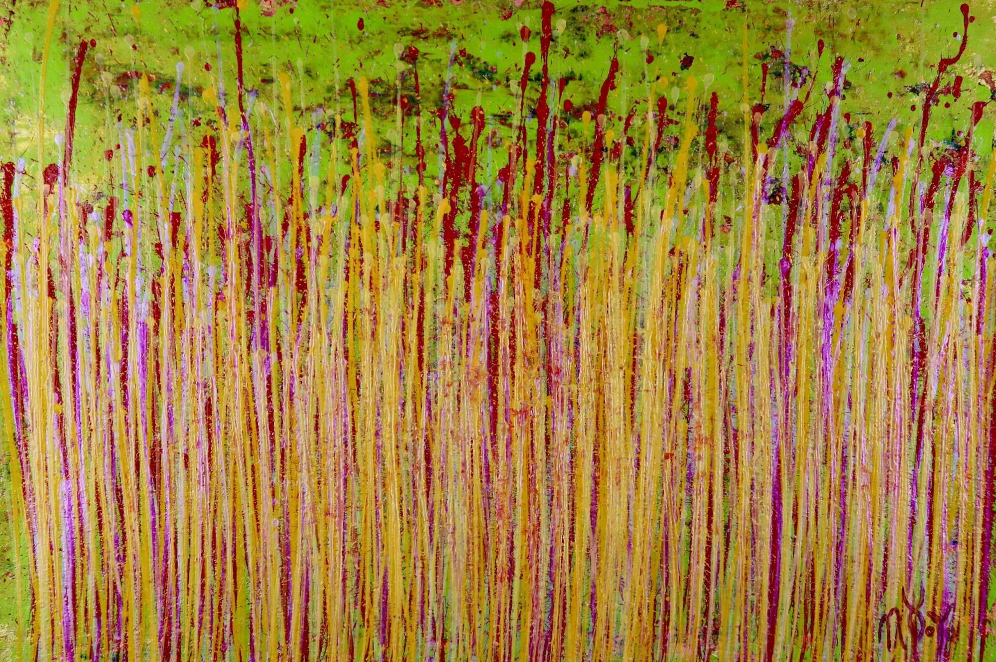 Full Canvas - Awakening Garden 7 (2020) by Nestor Toro