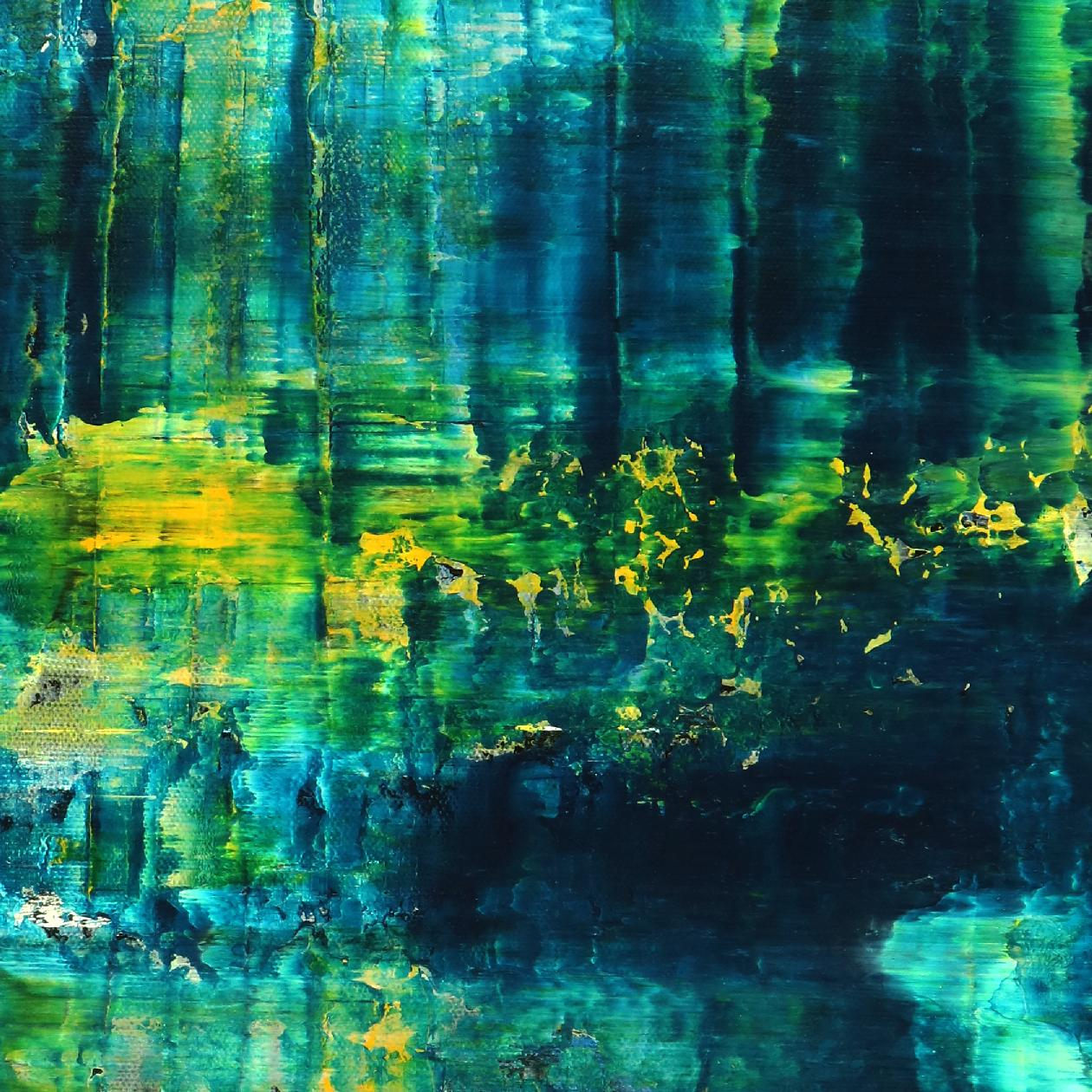 Detail - Emerald Forest Spectra 2 by Nestor Toro