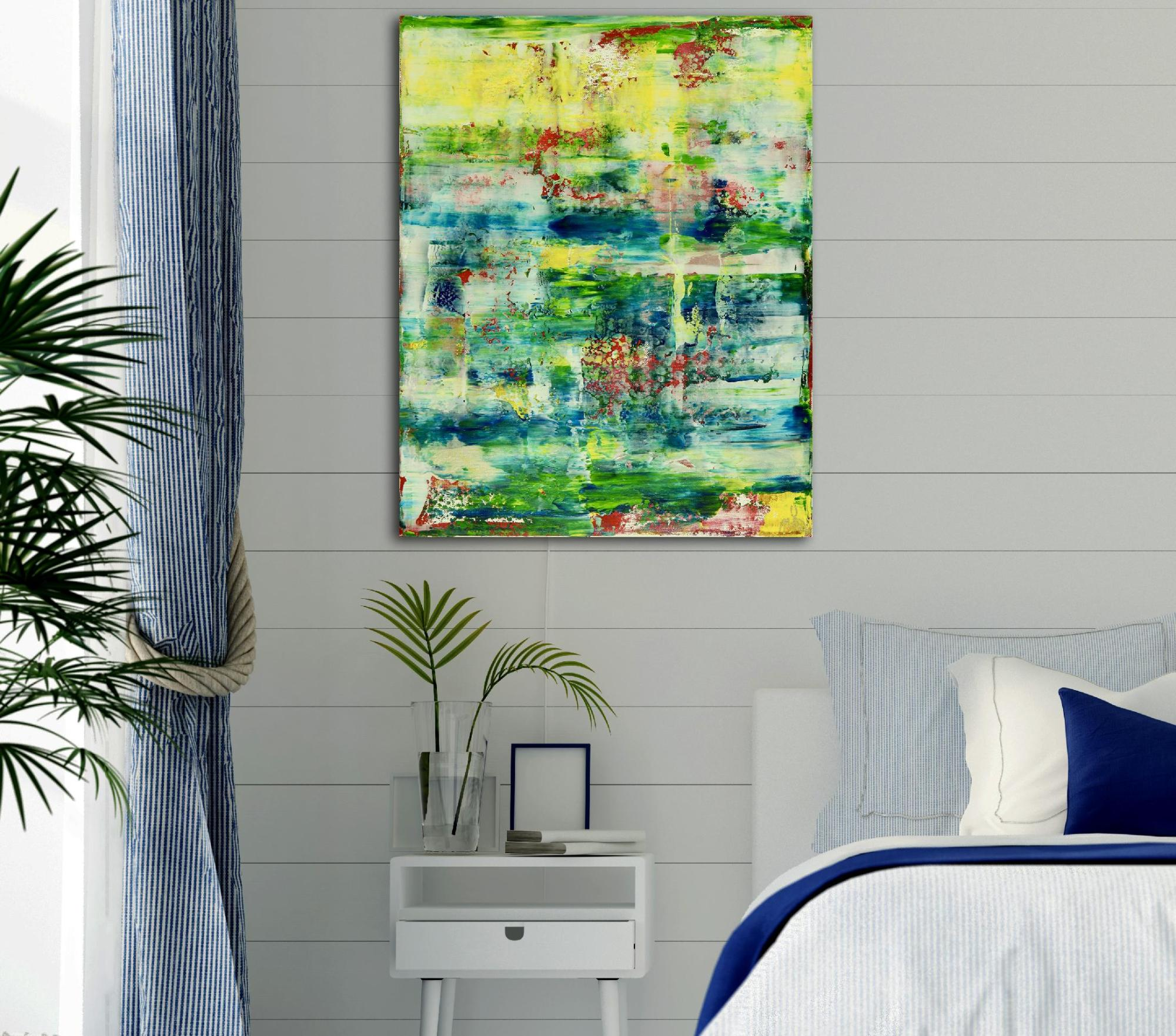 Room View - Sunny Morning Panorama 2 (2020) by Nestor Toro