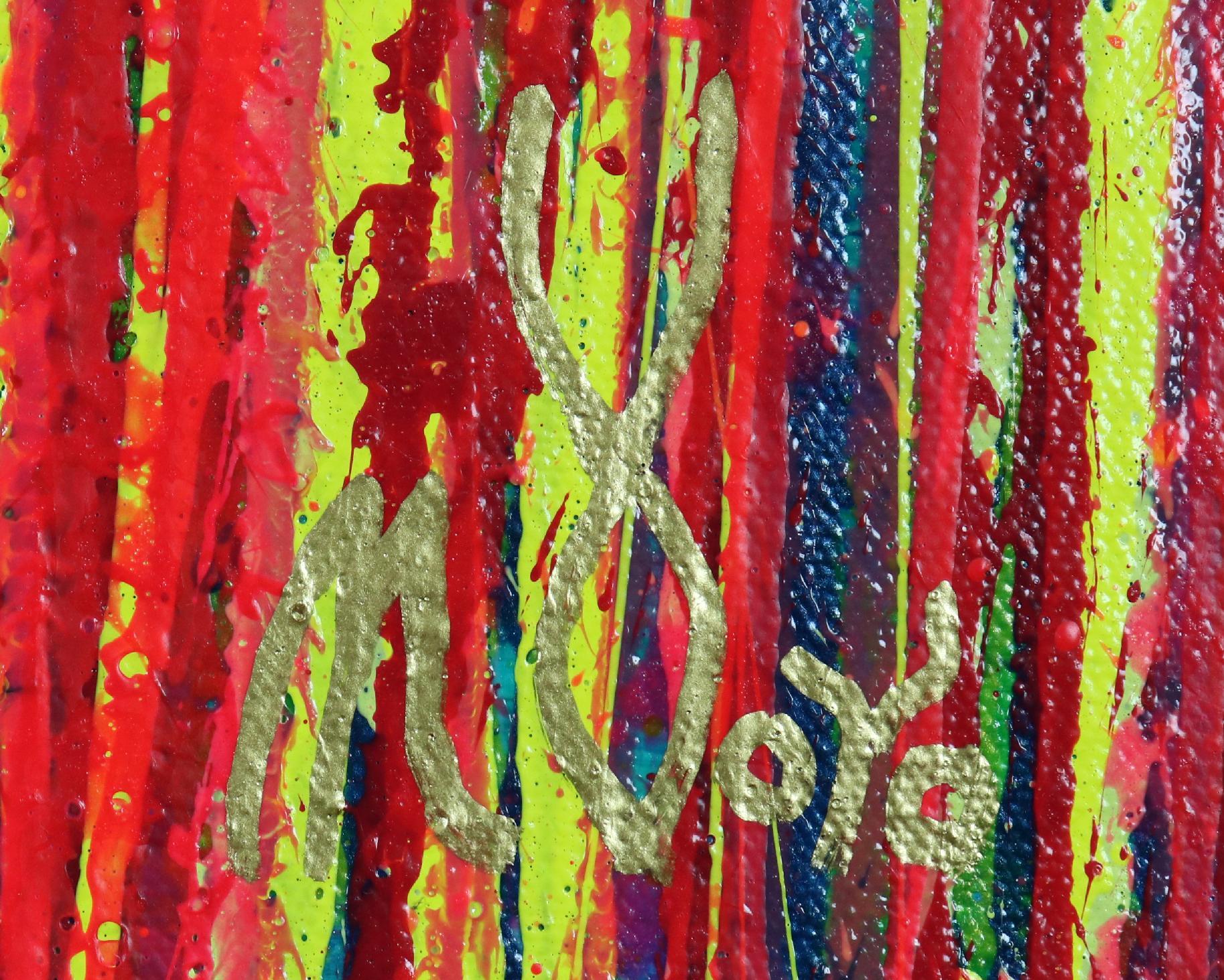 Signature - Prophesy Garden (2020) by Nestor Toro / SOLD