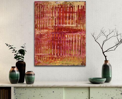 Sunset intrusions (Orange Sky) (2019) by Nestor Toro