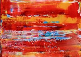 SOLD - Fiery California Sun 1 (2020) by Nestor Toro