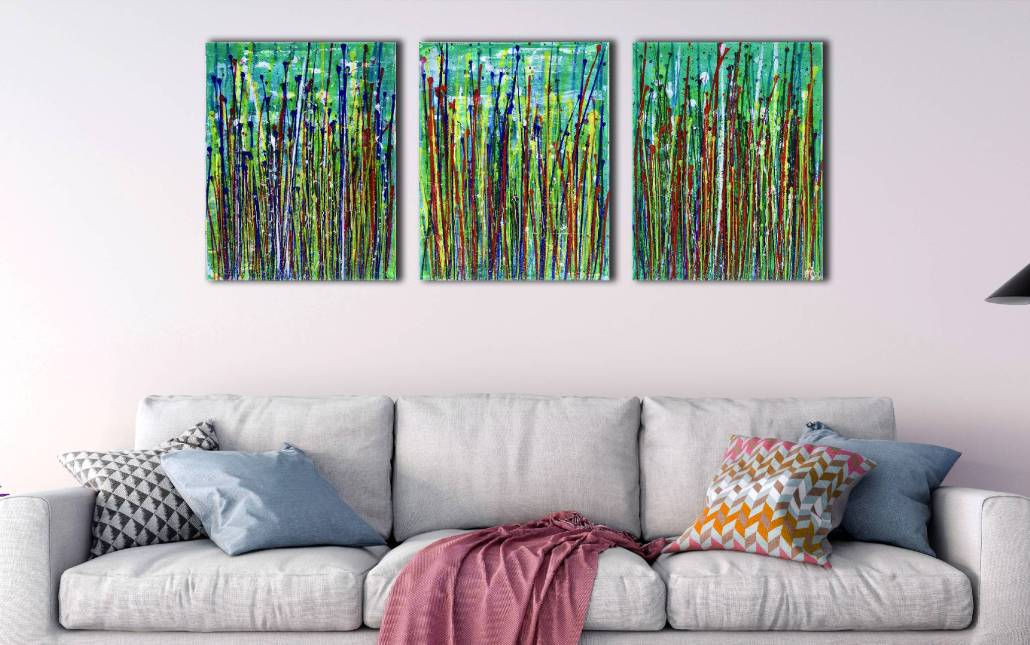 SOLD / Daydream Panorama (Natures Imagery) 13 (2020) - Triptych