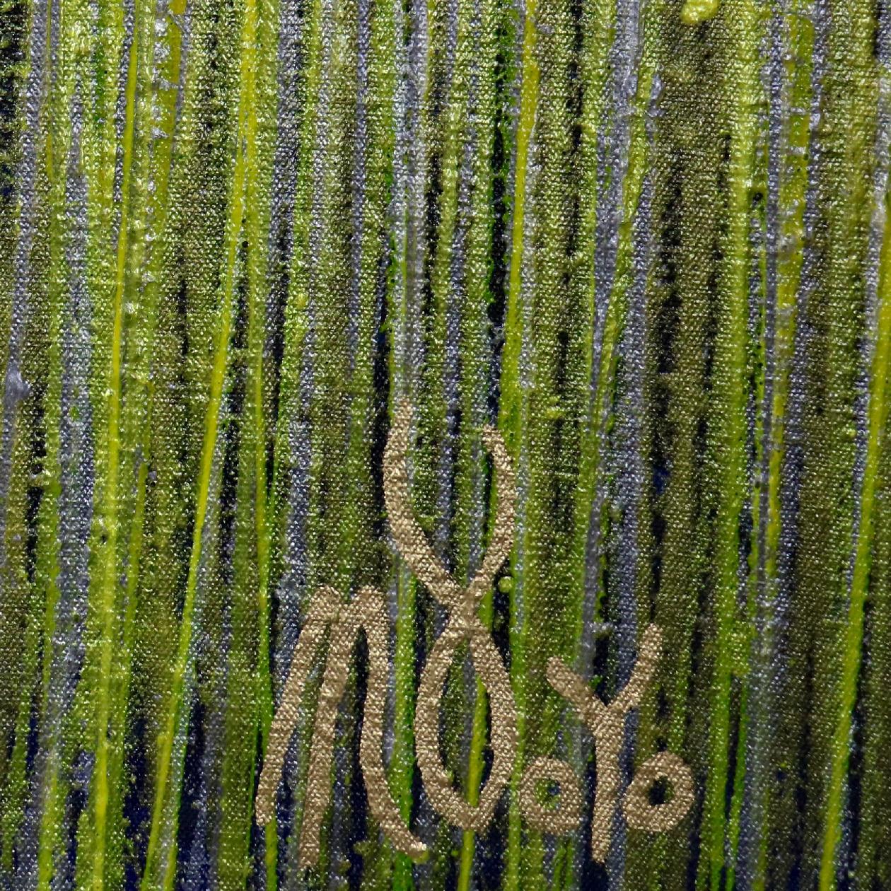 Signature - Detail - A closer look (Luminance garden) 3 (2020) by Nestor Toro