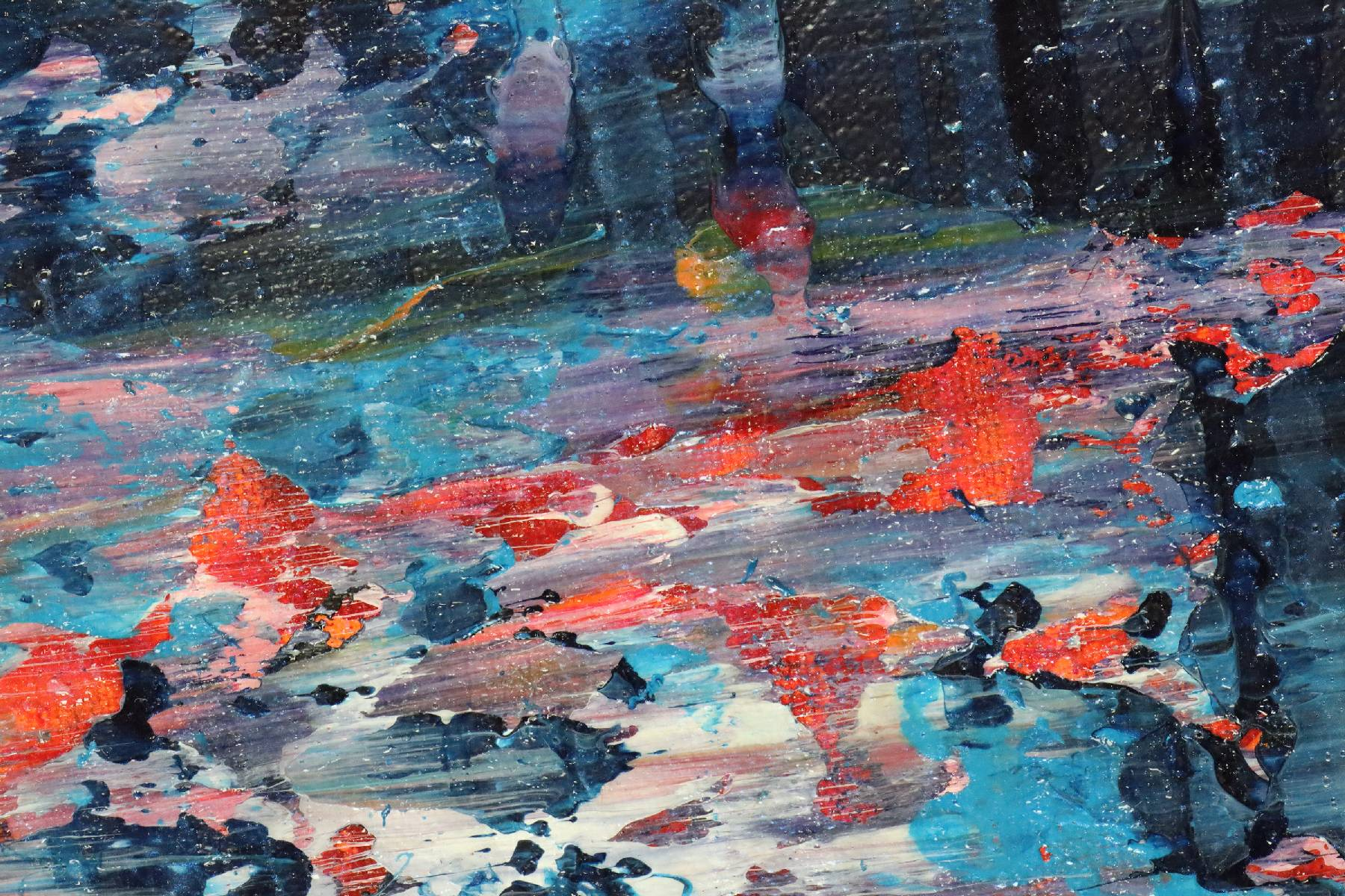 Detail - Torrential Night Storm (A Closer Look) (2020) by Nestor Toro