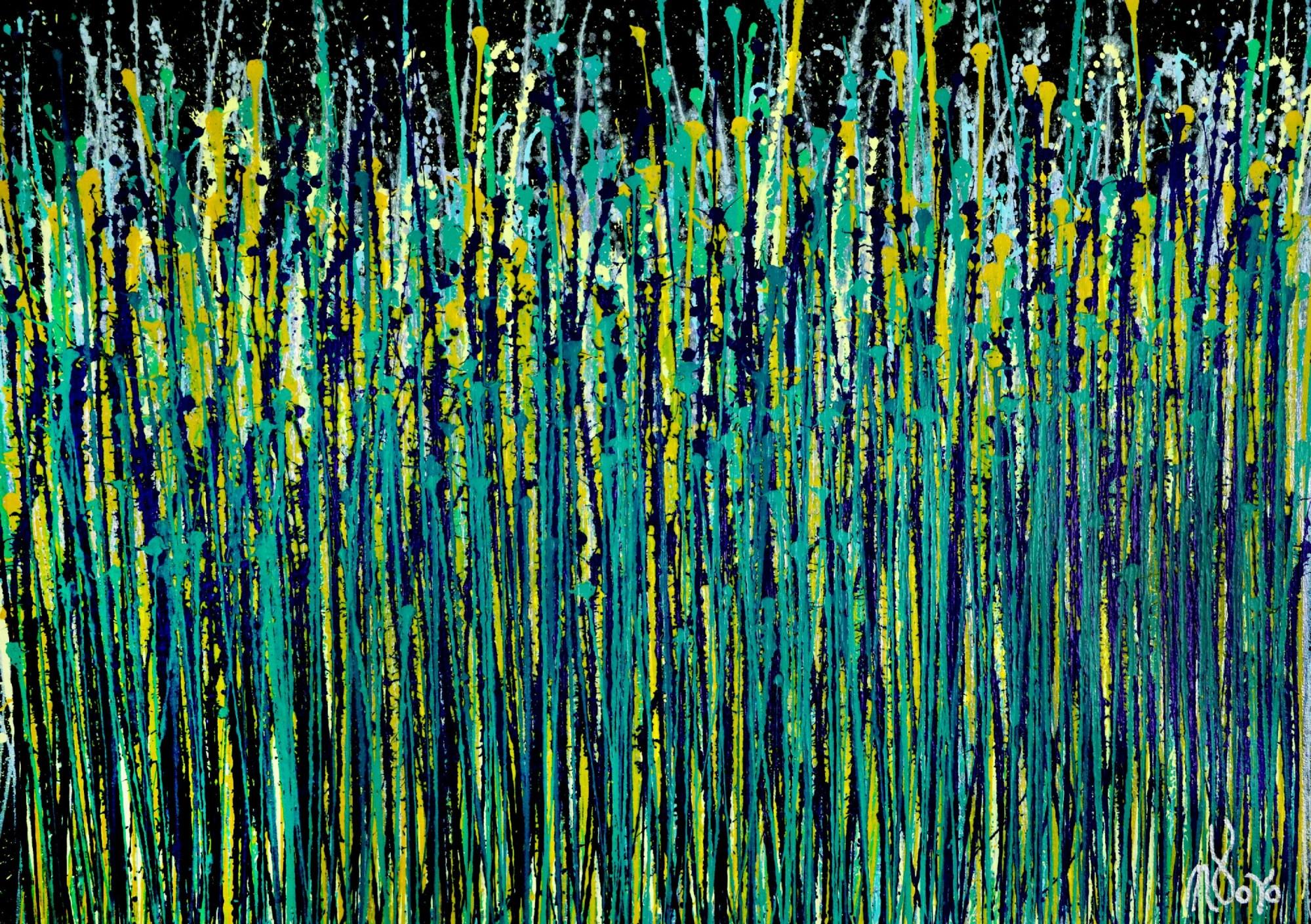Shimmer and breeze garden 2 (2020) by Nestor Toro