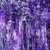 Detail - Rapid Iridescent Cascades (Purple) (2020) by Nestor Toro