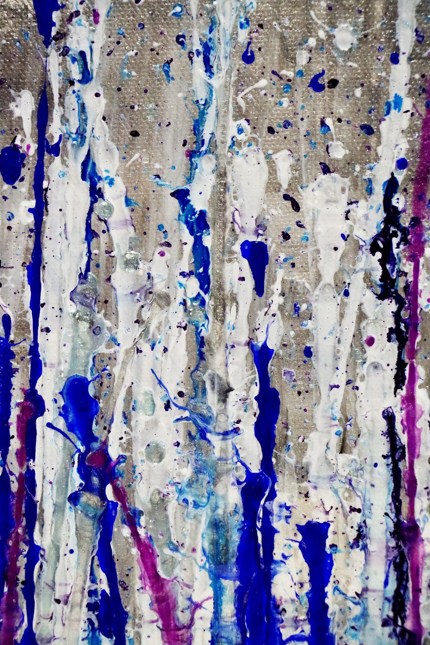 Detail - Daring Spectra (Purple Drizzles) (2020) by Nestor Toro